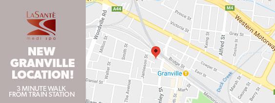 new granville location map